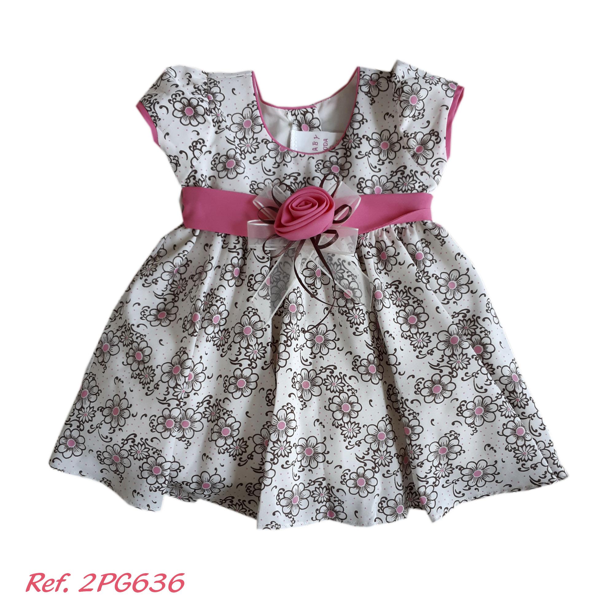bastante agradable llegando precio más bajo con Vestido Bebe Niña 2 Piezas - 2PG636